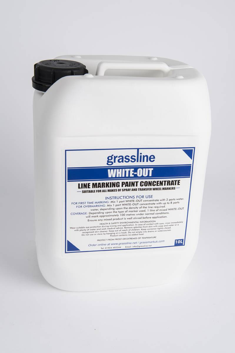 Grassline white out line marker paint grassline for White line marker paint